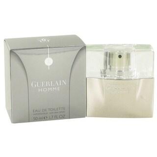 Guerlain Homme Men's 1.7-ounce Eau de Toilette Spray