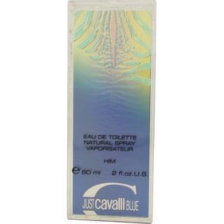 Just Cavalli Blue 2-ounce Eau de Toilette Spray Men's