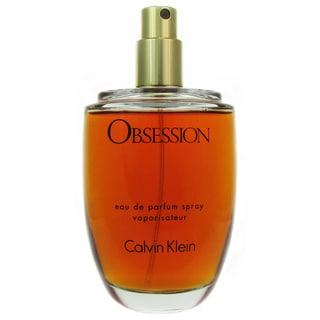 Calvin Klein Obsession Women's 3.4-ounce Eau de Parfum Spray (Tester)