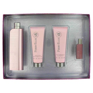 Perry Ellis 18 Women's 4-piece Fragrance Set