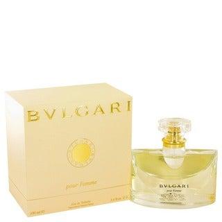 Bvlgari Pour Femme Women's 3.4-ounce Eau de Toilette Spray