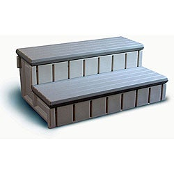 Confer Spa Step w/ Storage - Gray