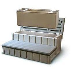 Confer Spa Step w/ Storage - Redwood - Thumbnail 1
