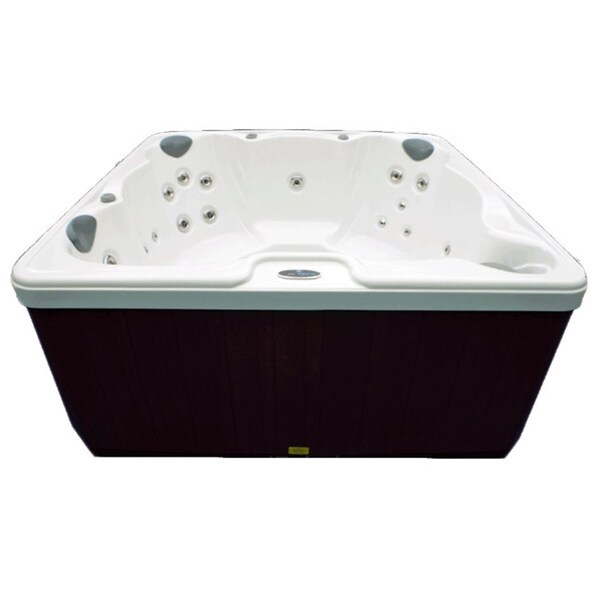 Home And Garden 6 Person 32 Jet Spa With Stainless Jets And Ozone Included    Free Shipping Today   Overstock.com   12714307