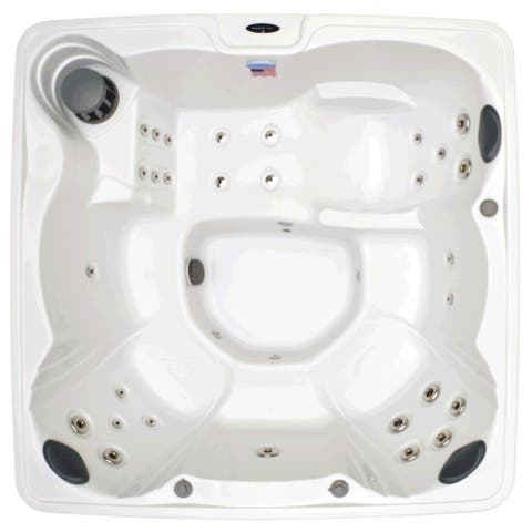 Home and Garden 6-person 32-jet Spa with Stainless Jets and Ozone Included