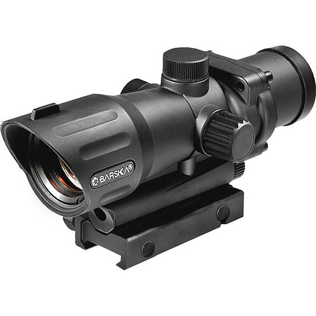 Barska 1x30 M16 Sight Tactical Red Dot Rifle Scope