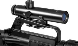 Barska 4x20 Electro Sight Carry Handle Rifle Scope - Thumbnail 1