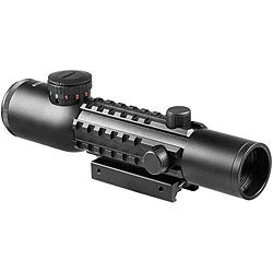 Barska 4x28 IR Mil-Dot Electro Sight Rifle Scope