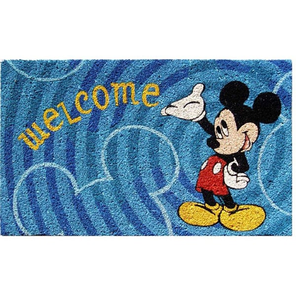 Disney S Mickey Mouse Welcome Doormat 18 Quot X 30 Quot Free