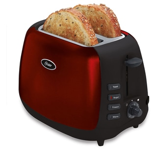 Oster 2-Slice Toaster, Red