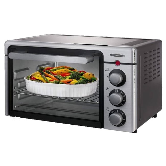 Oster 6085 6-slice Convection Toaster Oven, Silver (Metal)