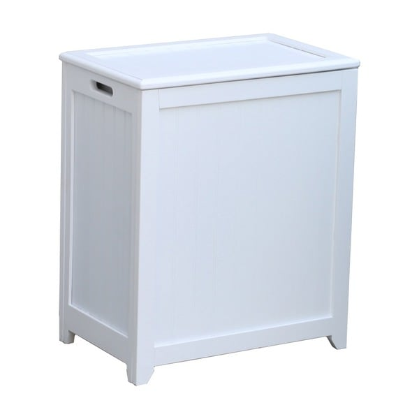 wooden laundry hamper shop white rectangular wood laundry hamper with interior 1176