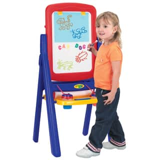 Crayola Children's Qwik Flip 2-sided Easel|https://ak1.ostkcdn.com/images/products/4825723/P12717416.jpg?impolicy=medium