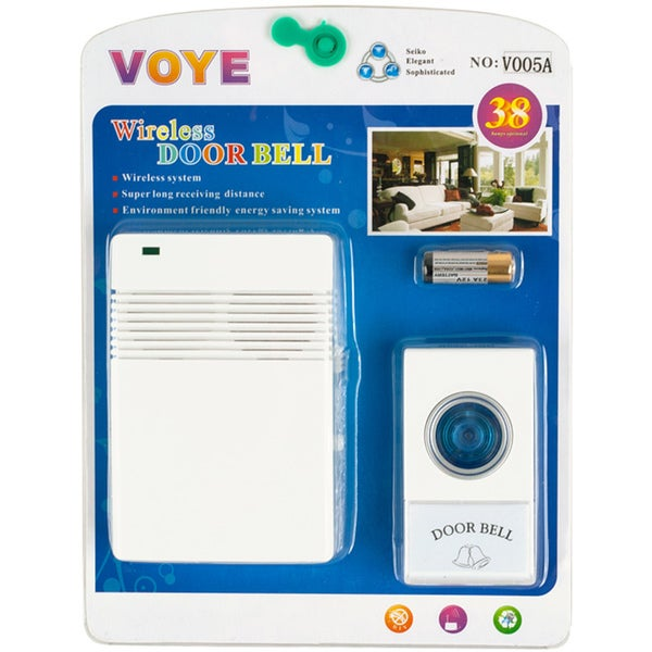 Wireless Remote 8-chime Doorbell - Free Shipping On Orders Over $45 ...