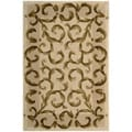 "Nourison Hand-Tufted Versailles Palace Ivory Oriental Rug - 3'6"" x 5'6"""