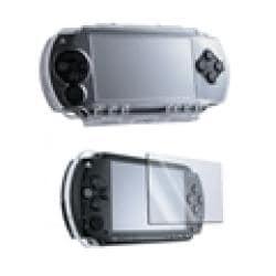 Insten Sony PSP Crystal Case/ Reusable Screen Protector