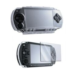Insten Sony PSP Crystal Case/ Reusable Screen Protector