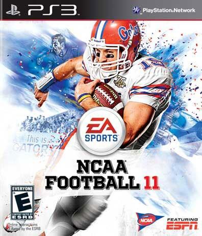 PS3 - NCAA Football 11- By EA Sports