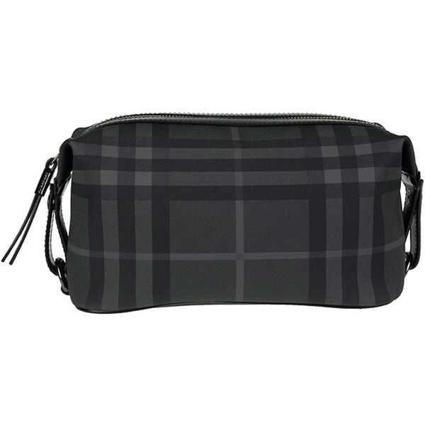 9344ebd8d5f5 Shop Burberry Brit Check Toiletry Bag - Free Shipping Today - Overstock -  4828437