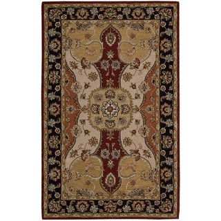 Nourison Hand-tufted Caspian Wool Rug (3'6 x 5'6)