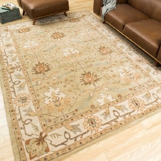 Nourison Hand-Tufted Caspian Traditional Wool Rug (3'6 x 5'6)