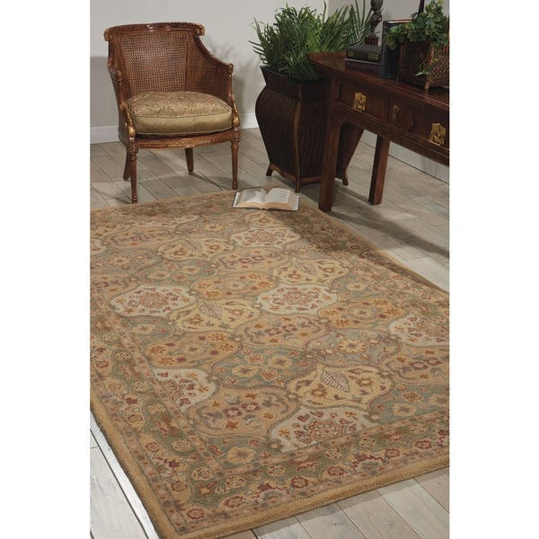 Nourison Hand-tufted Multi-color Wool Rug - 5' x 8'
