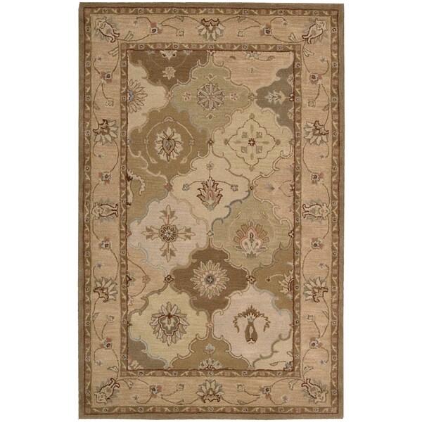 Nourison Hand-tufted Caspian Wool Rug (8' x 10'6)