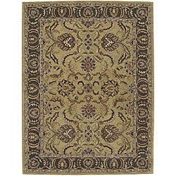 Nourison Hand-tufted Caspian Gold Wool Rug - 8' x 10'6 - Thumbnail 0