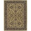 Nourison Hand-tufted Caspian Gold Wool Rug - 8' x 10'6