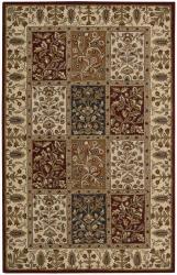 Nourison Hand-tufted Caspian Multi Wool Rug (3'6 x 5'6)