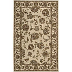 Nourison Hand-tufted Caspian Ivory Wool Rug (3'6 x 5'6)