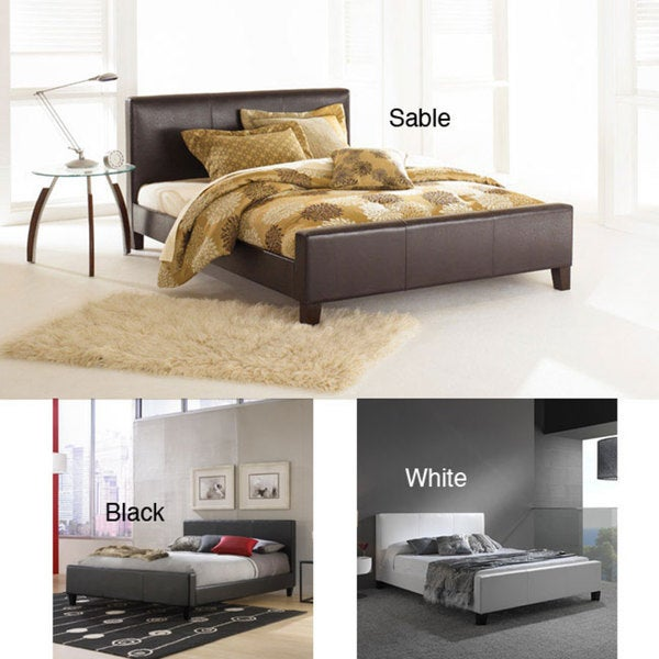 Euro Queen size Platform Bed Free Shipping Today