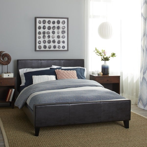 Euro Full Size Platform Bed Free Shipping Today