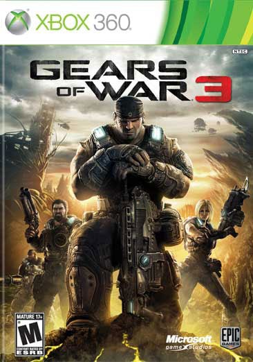 Xbox 360 - Gears of War 3 - By Microsoft