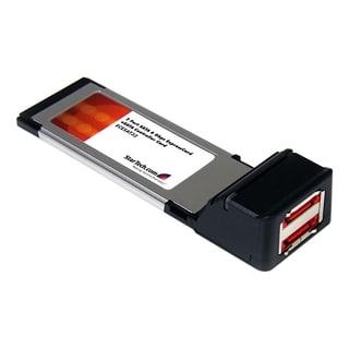 StarTech.com 2 Port SATA 6 Gbps ExpressCard eSATA Controller Card