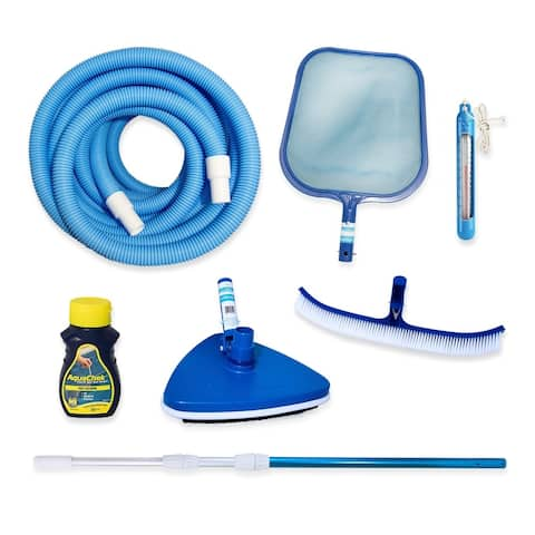 Large Maintenance Kit for Above Ground Pools - Blue