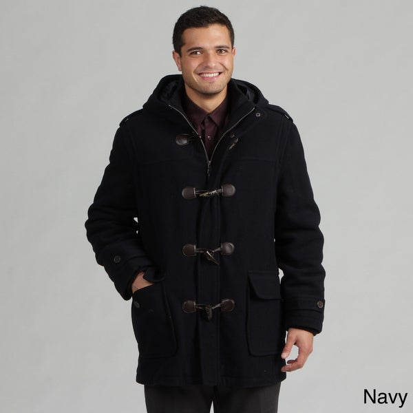 Tommy Hilfiger Men's Wool-blend Toggle Coat