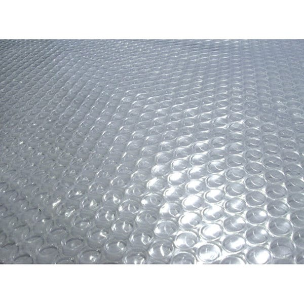 Blue Wave 21 ft. Round 12-mil Solar Blanket for Above Ground Pools - Clear