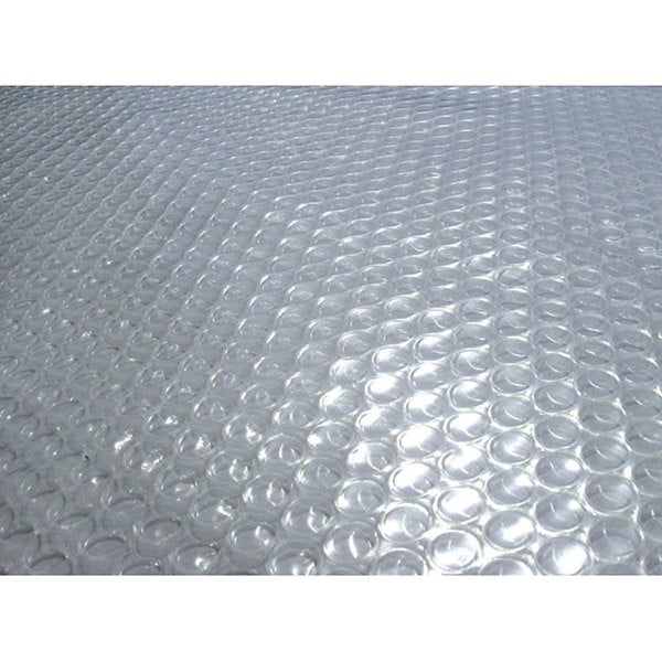 Blue Wave 24 ft. Round 12-mil Solar Blanket for Above Ground Pools - Clear