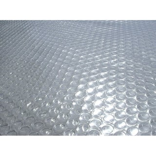 Blue Wave 33 ft. Round 12-mil Solar Blanket for Above Ground Pools - Clear