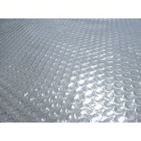 14-mil Solar Blanket for Rectangular 12-ft x 24-ft In-Ground Pools - Clear
