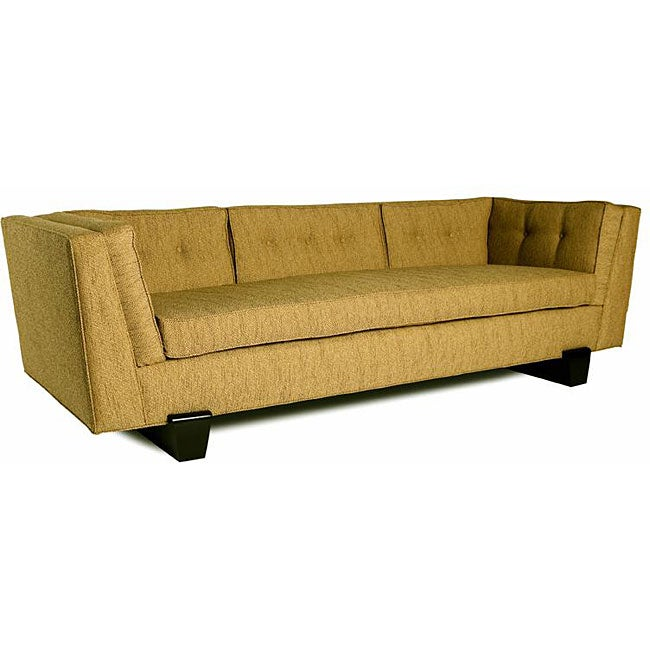 Shop Jar Designs The Maxim Burnt Orange Sofa Free