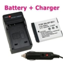 INSTEN Sony NP-BD1 Battery and Charger Set - Thumbnail 1