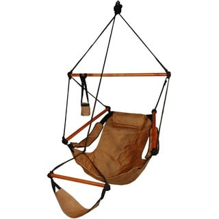 deluxe wood hammock chair deluxe hammock chair   free shipping today   overstock     12725201  rh   overstock