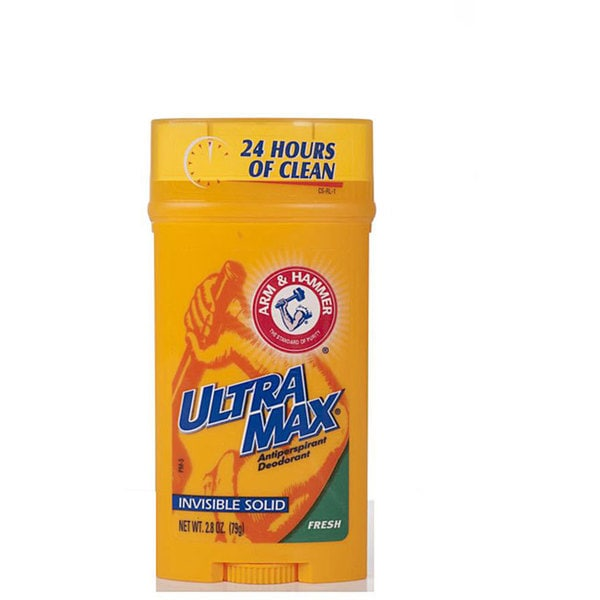 Arm & Hammer 2.8-ounce Invisible Solid Deodorant (Pack of 6)