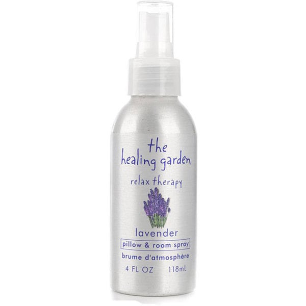 The Healing Garden Zzz Therapy Pillow And Room Spray