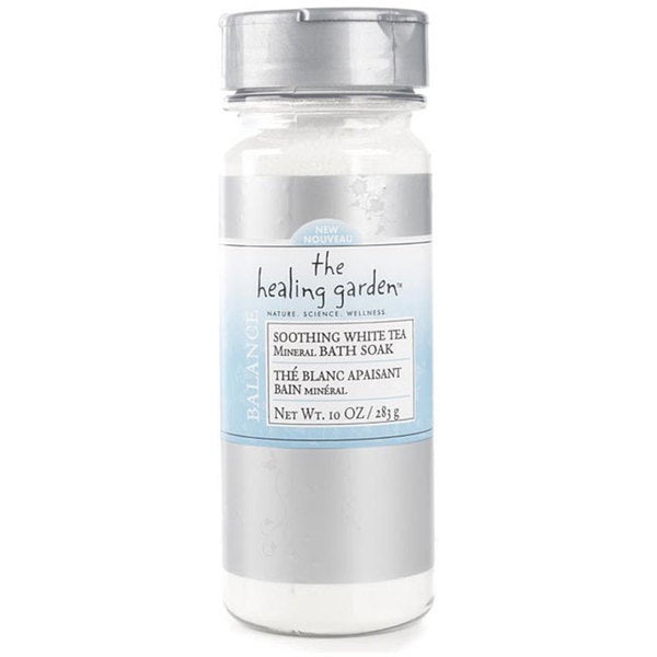 Healing Garden Soothing White Tea 10-ounce Mineral Bath Soak (Pack of 4)