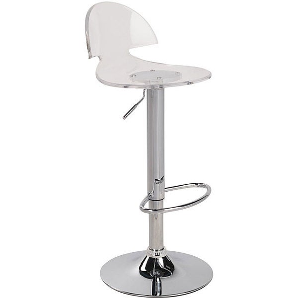 Venti Clear Acrylic Bar Stool