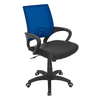 LumiSource Officer Blue Office Chair