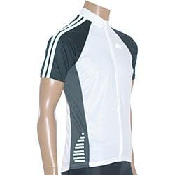 ETA Men's Short-sleeve White/ Black Cycling Jersey - Thumbnail 2